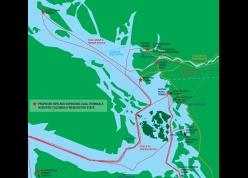 Carbon Corridor Map