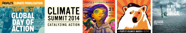 Climate March 2014 Posters