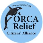 OP Orca Relief Logo